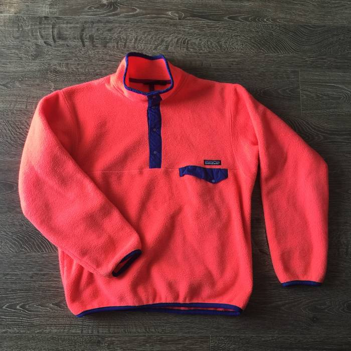 Vintage Vintage 90 s Patagonia Synchilla Pullover FleeceSweater Made in USA  Size US S   EU 44 db7021099373