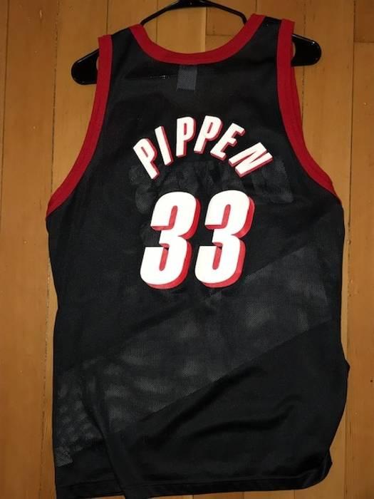 ... greece vintage vintage champion scottie pippen portland trailblazers  jersey size us l eu 52 54 1c39c 092c3d202