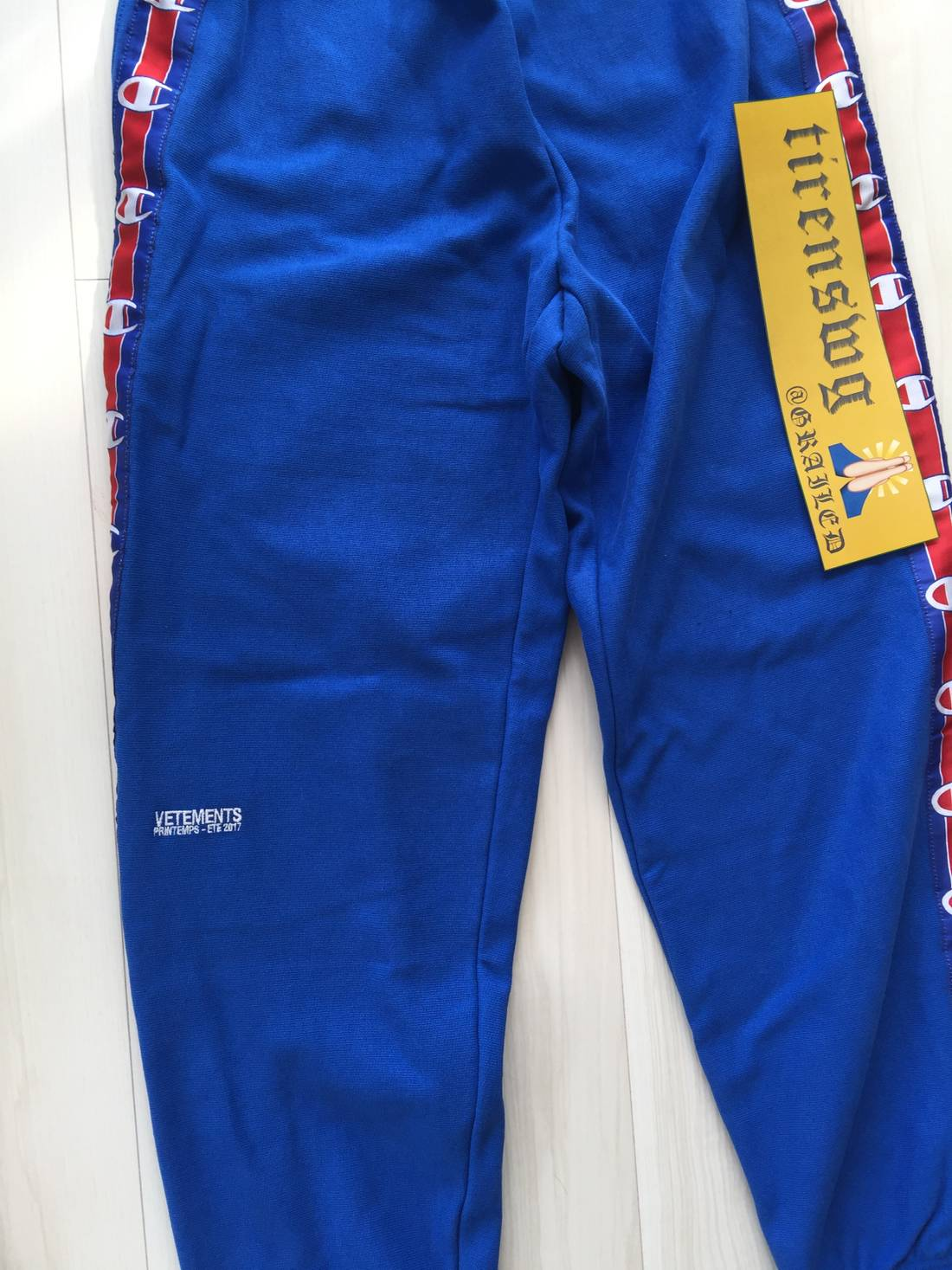 550b642a32ee Vetements X Champion Sweatpants Price