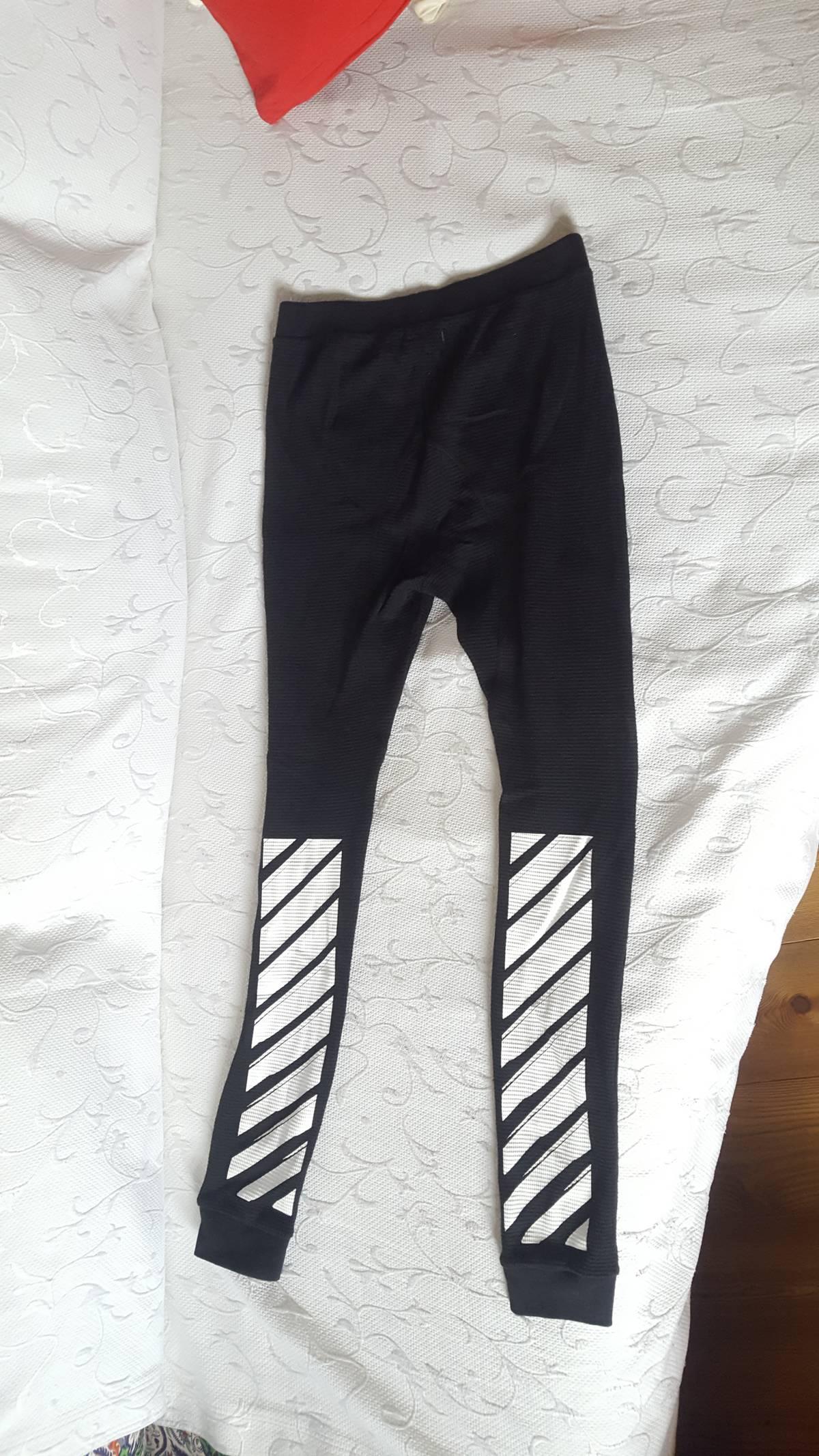 16effa761d76c Off-white Off-white C/o Virgil Abloh Waffle Leggings Knit Black ...