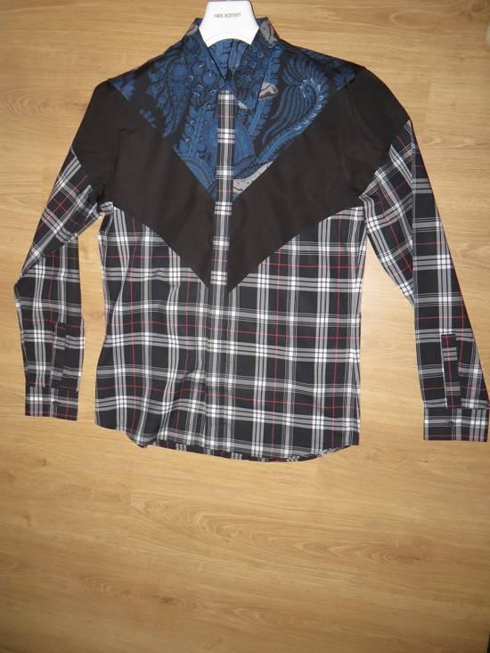 Givenchy Paisley check-print shirt Size US M / EU 48-50 / 2 - 4