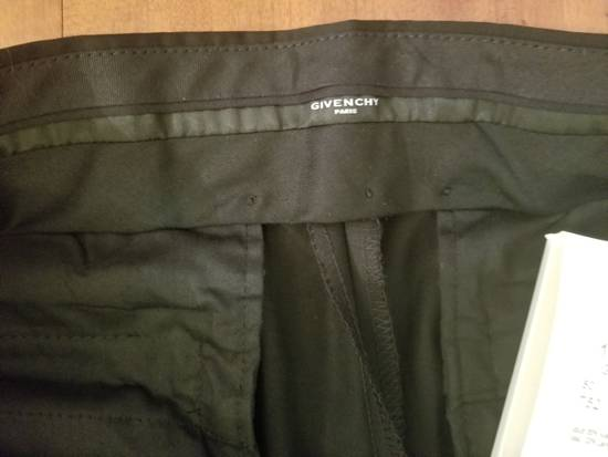 Givenchy Givenchy Black Wool Dress Tailored Pants Zip Detail Zipper Size 52 Brand New Trousers Size 52R - 3