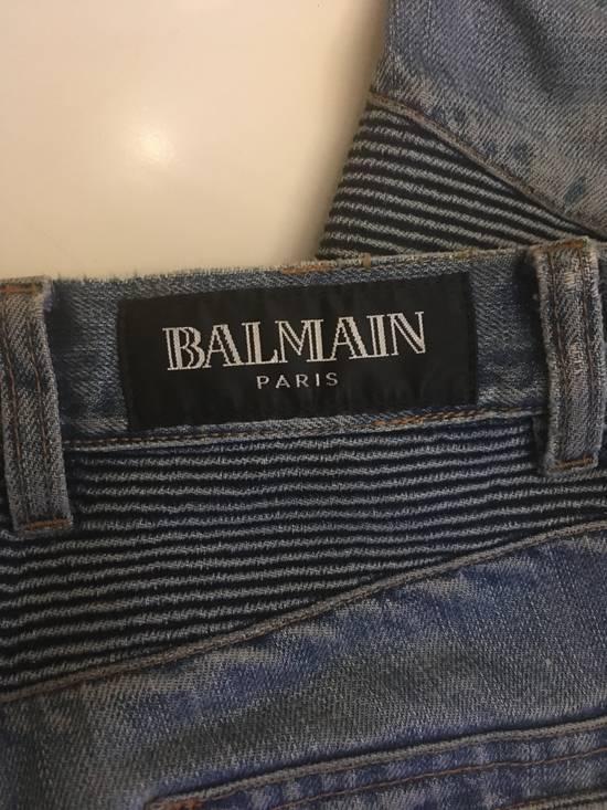 Balmain BIKER BALMAIN DENIM Size US 29 - 6