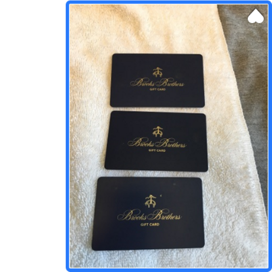 Thom Browne Gift Card Size 40R