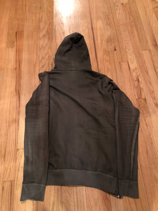 Balmain Balmain Sweatshirt Zip Up Oiled Green Brown Size US L / EU 52-54 / 3 - 6