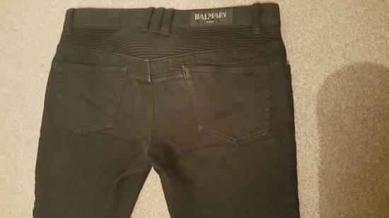 Balmain Blue-Black Balmain Biker Size US 31 - 3