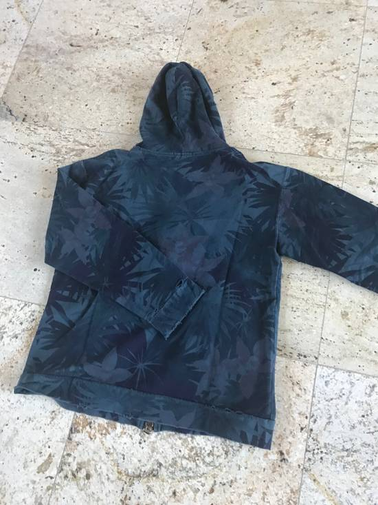 Balmain Decarnin Distressed Floral Hoodie Size US M / EU 48-50 / 2 - 2