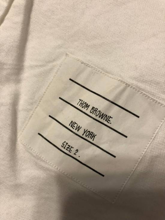 Thom Browne hector embroidered arm stripe shirt Size US M / EU 48-50 / 2 - 3