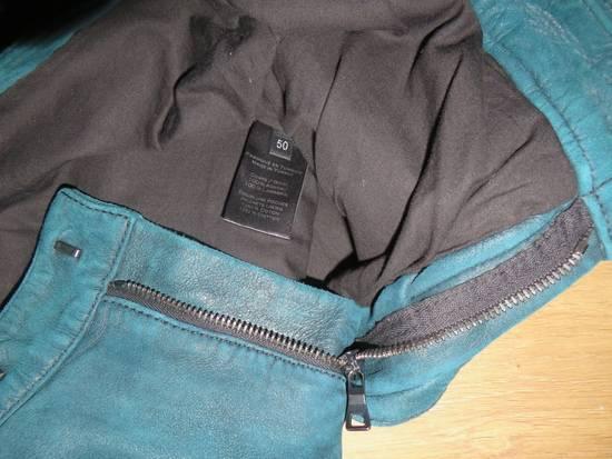 Balmain Suede biker pants Size US 34 / EU 50 - 8