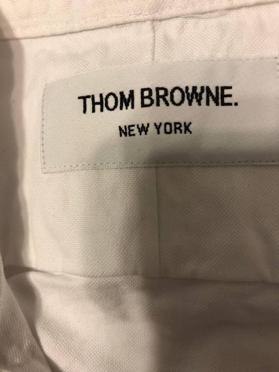 Thom Browne slit fit button down collar cotton oxford shirt Size US M / EU 48-50 / 2 - 5