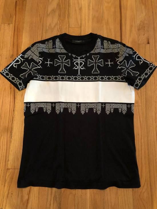 Givenchy Givenchy T Shirt Black White Cross Print Size US M / EU 48-50 / 2