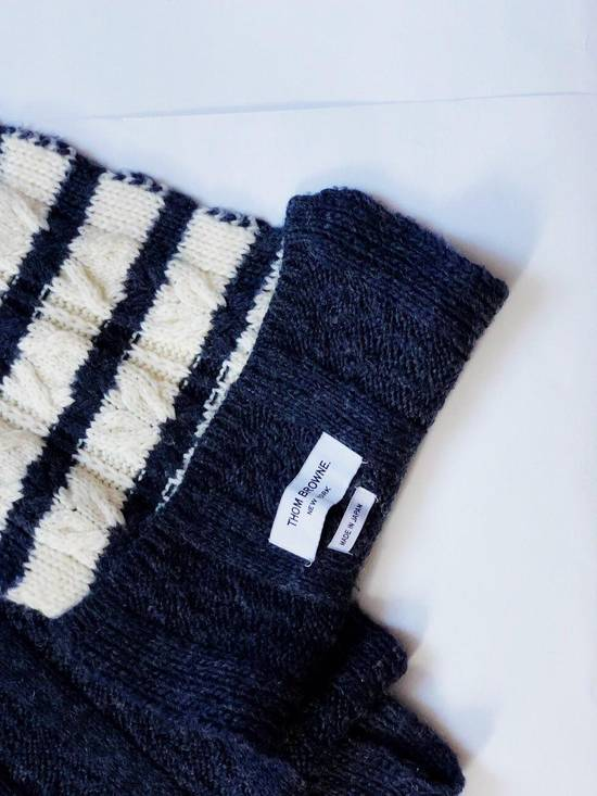 Thom Browne Thom Browne Wool Scarf Size ONE SIZE