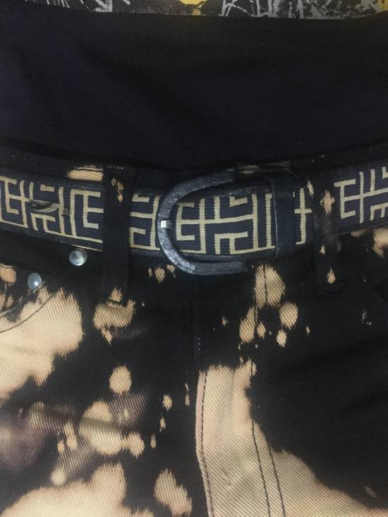 Balmain Rare!Vintage!Pierre Balmain Belts in Classic Monogram Streetwear!High-End!Hypebeast! Size 30 - 3