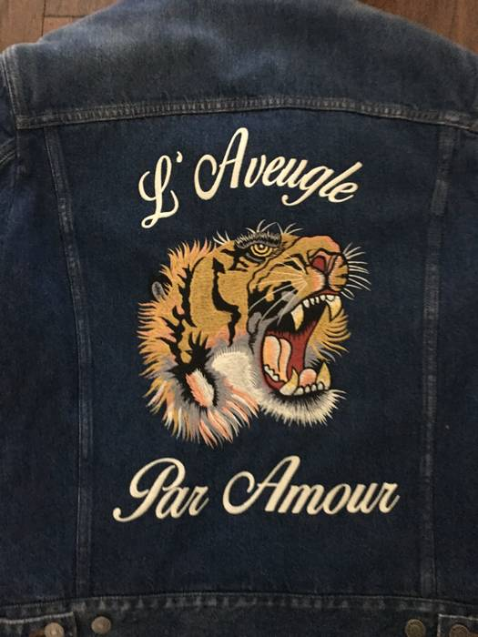 cca75c6b7e2c Gucci Gucci Jean Jacket Size m - Denim Jackets for Sale - Grailed
