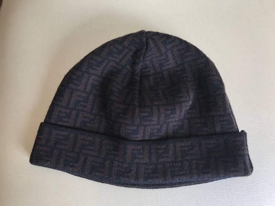 Fendi monogram beanie hat Size one size - Hats for Sale - Grailed 3e69362199e