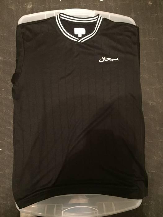 Supreme Supreme Arabic Soccer Jersey Size l - Short Sleeve T-Shirts ... 3b1473d69