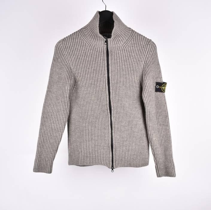 79828db253 Stone Island 7539888 Men Wool Full Zip Sweater Size s - Sweaters ...