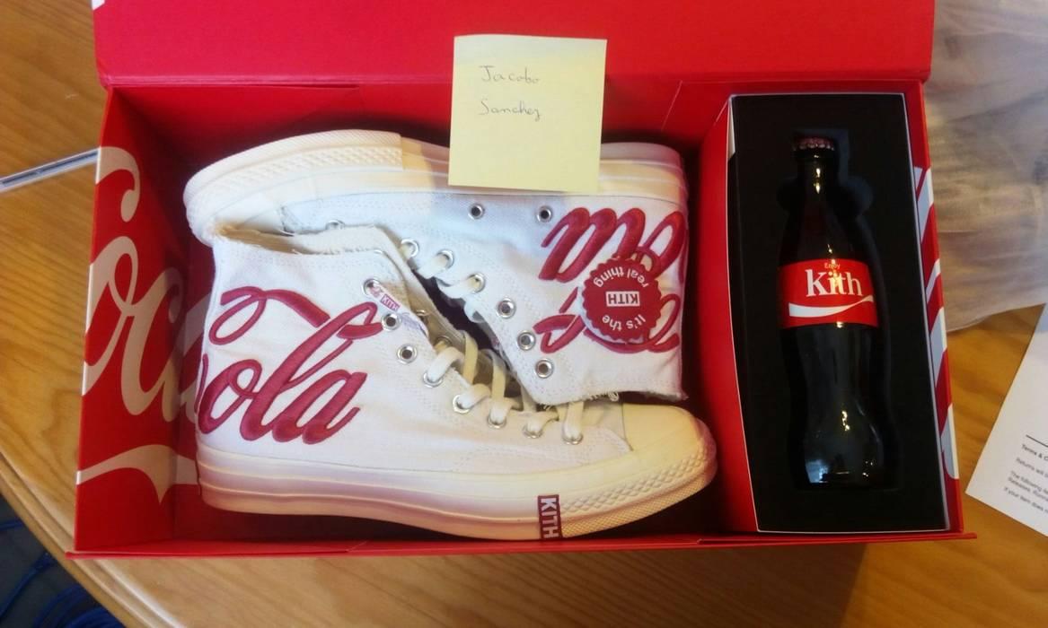 c2d33119816f Kith Nyc Kith Ronnie Fieg x Coca-Cola x converse 70s Chuck Taylor Size US