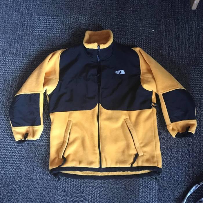 The North Face North Face Vintage Denali Jacket Yellow Black