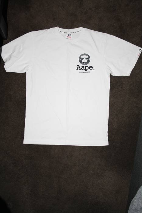 Aape Aape by a bathing ape somewhere in the aape universe T-shirt ... b91a00efd