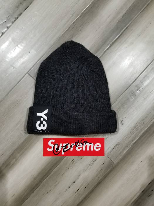 c4291410e7f Y-3 Y3 Beanie Size one size - Hats for Sale - Grailed
