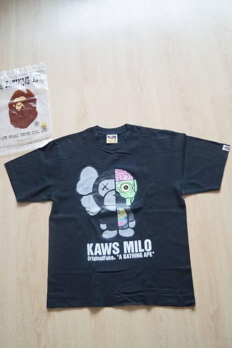 bb16a0350 Bape. a Bathing Ape x Kaws Baby Milo Original Fake T-Shirt. Size: US M / EU  48-50 ...