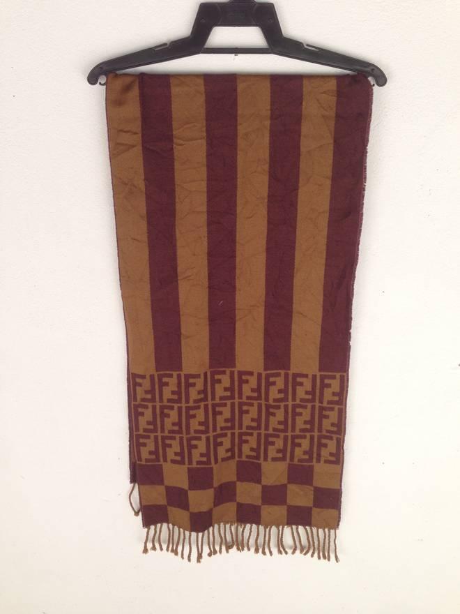 dc2045b81ea0 ... wholesale fendi fendi monogram muffler scarf made in italy size one  size 38335 90825