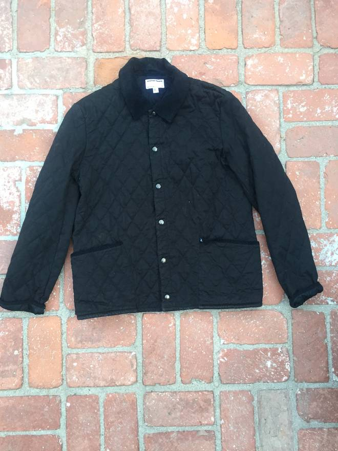 American Apparel Quilted Hunting Jacket Size M Heavy Coats For