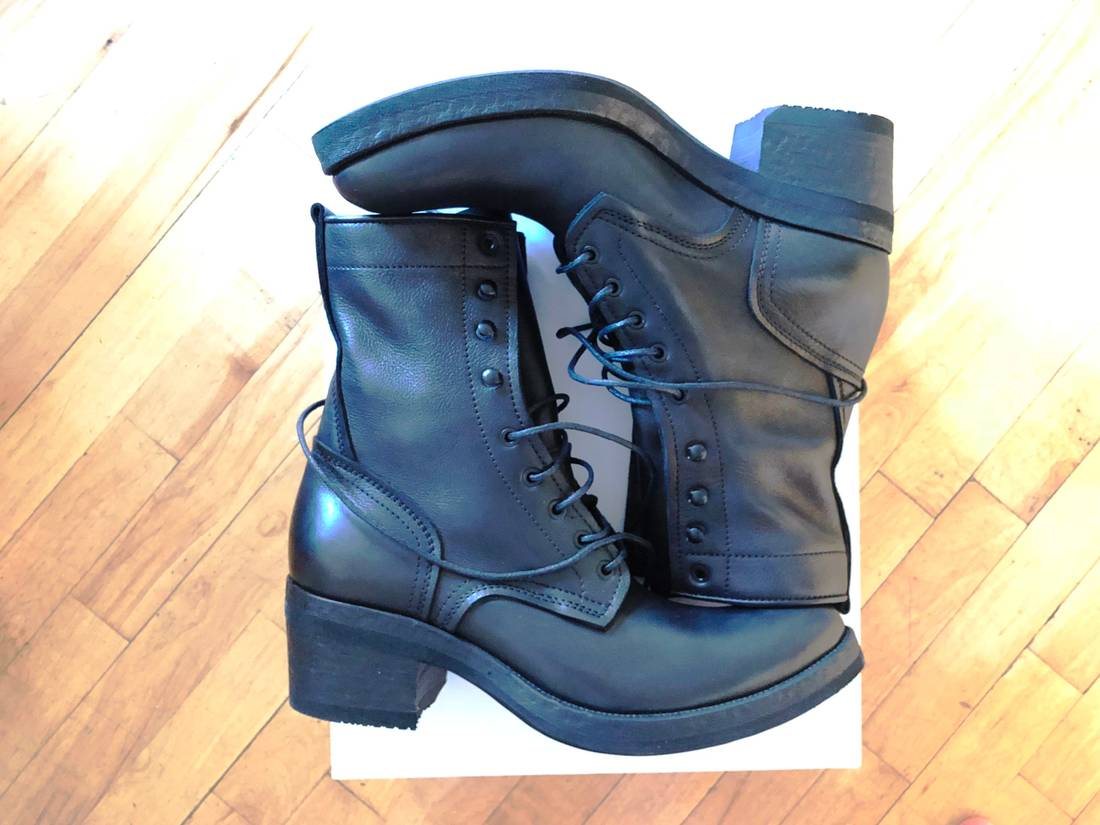 Haider Ackermann Pre-owned - Leather lace ups