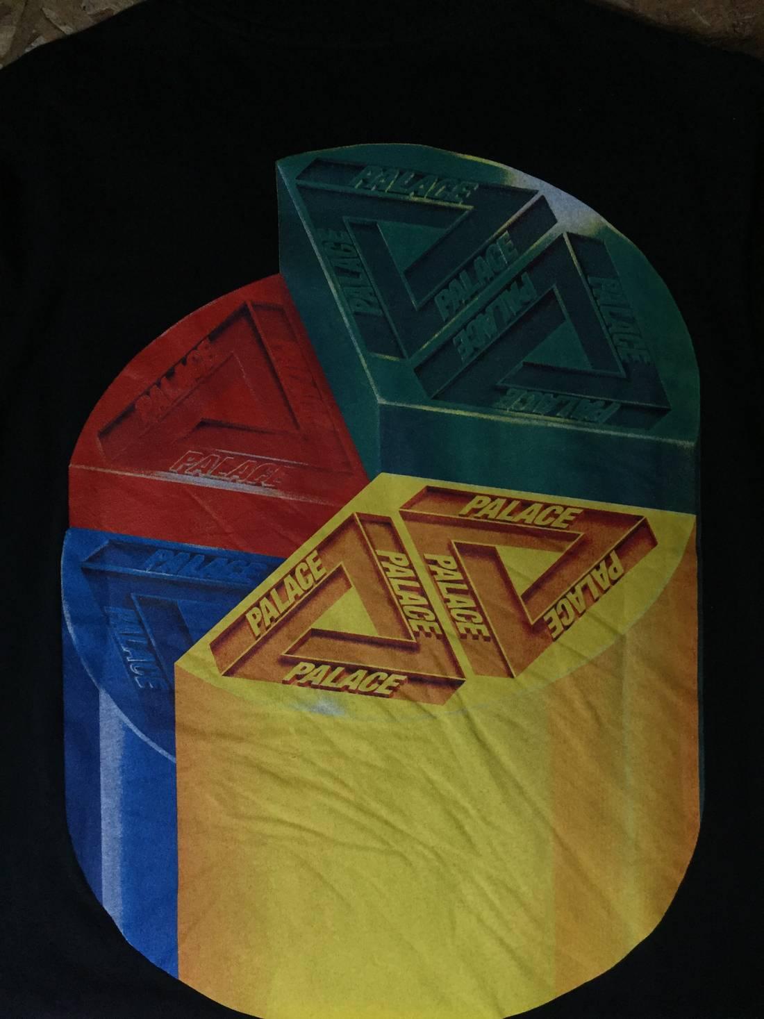 Palace pie chart tee size m short sleeve t shirts for sale grailed palace pie chart tee size us m eu 48 50 2 3 nvjuhfo Image collections