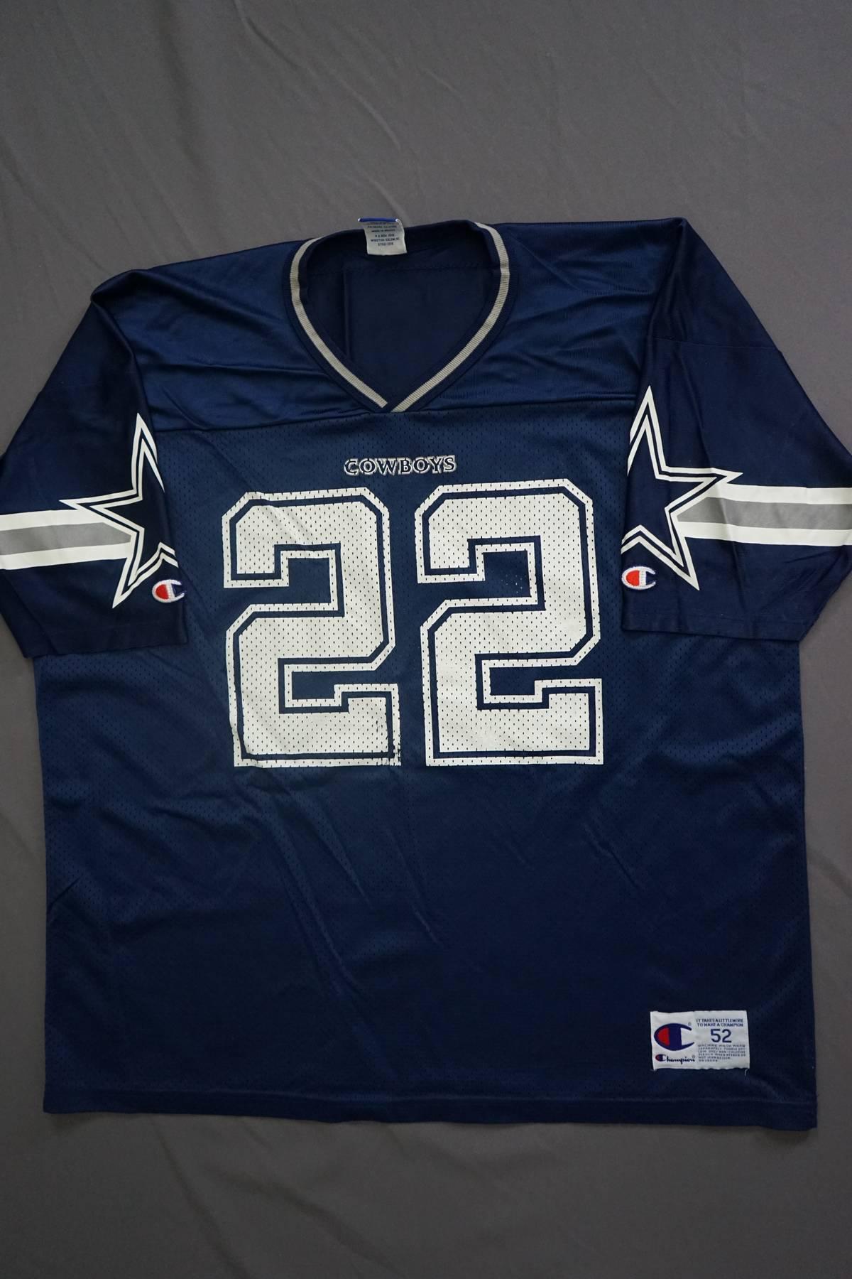 check out 58af3 845ec Champion × Vintage 90s Dallas Cowboys E. Smith Jersey Size Xxl $27