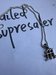 6cfc5d80fa28 Chrome Hearts Chrome Hearts M Letter Pendant