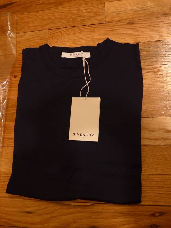 Givenchy GIVENCHY NWT NAVY WOOL SWEATER SIZE L Size US L / EU 52-54 / 3