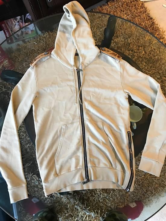 Balmain Balmain Beige Military Zipper Hoodie Size US M / EU 48-50 / 2