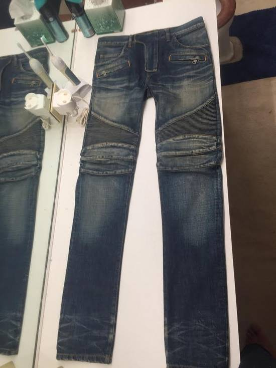 Balmain Biker Denim Size US 29