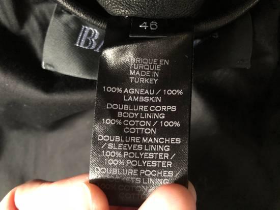Balmain Balmain Paris Handwoven Short-sleeve Leather Jacket Size US S / EU 44-46 / 1 - 5