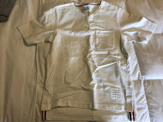 Thom Browne Thom Browne T-shirt White Cotton SIZE 0 Size US S / EU 44-46 / 1
