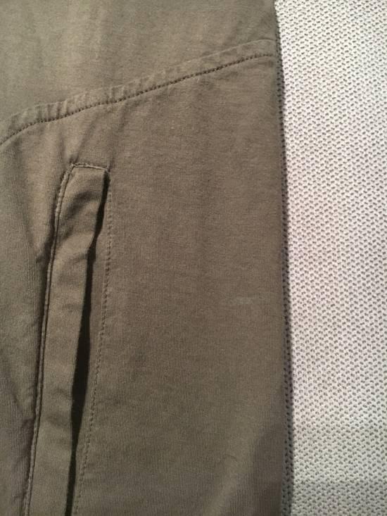 Balmain Balmain Khaki T-Shirt with Kangaroo Pockets Size US L / EU 52-54 / 3 - 8