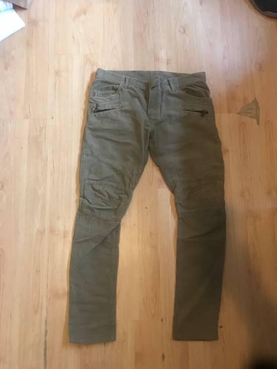 """Balmain """"corduroy biker pant"""" Size US 31"""