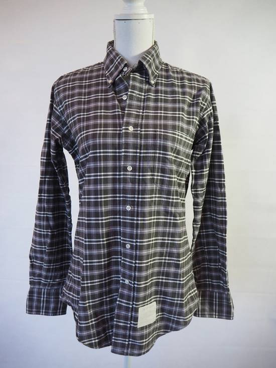 Thom Browne checked soft shirt size 2 Made in USA Size US M / EU 48-50 / 2