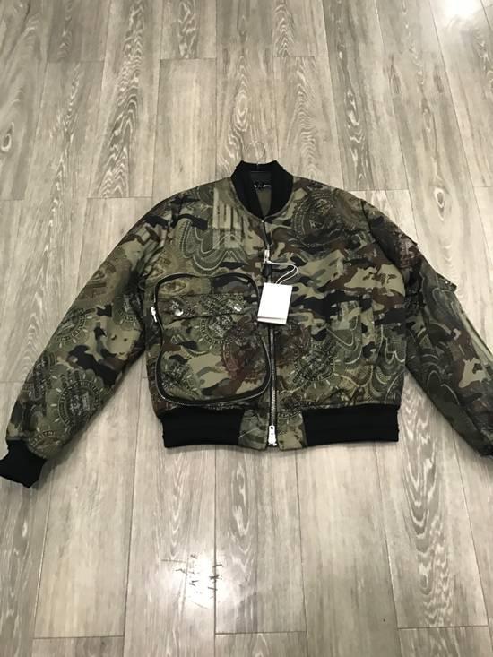 Givenchy 44-46-48-52 Padded Camo Bomber Jacket Size US M / EU 48-50 / 2