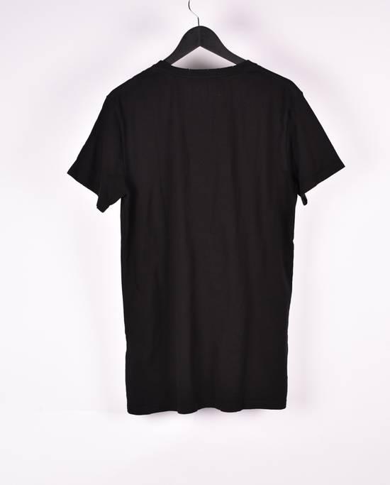 Balmain Paris Men Black Crew Neck T-Shirt, NWT Size US XL / EU 56 / 4 - 2