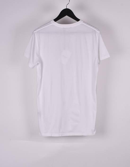 Balmain Paris Men White V Neck T-Shirt, NWT Size US M / EU 48-50 / 2 - 2