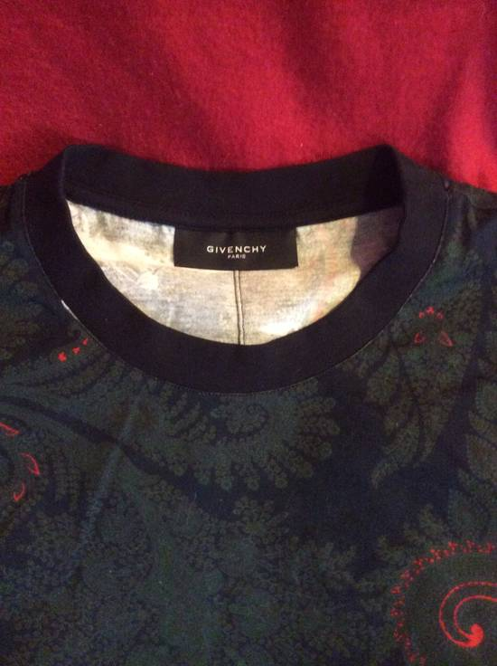 Givenchy Fighter Jets Paisley T shirt Size US L / EU 52-54 / 3 - 2