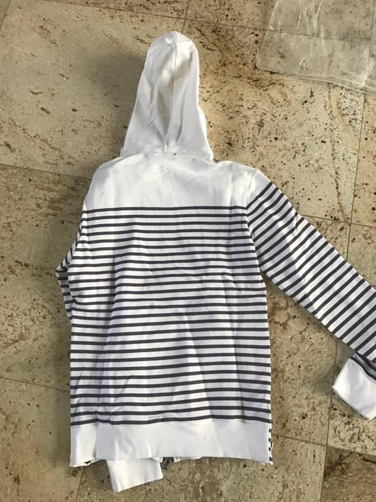 Balmain Stripe White & Grey Hoodie Size US S / EU 44-46 / 1 - 13