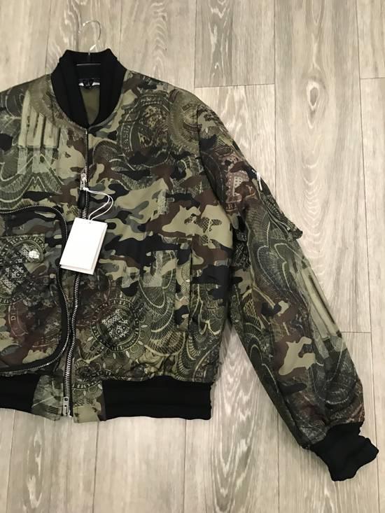 Givenchy 44-46-48-52 Padded Camo Bomber Jacket Size US M / EU 48-50 / 2 - 1