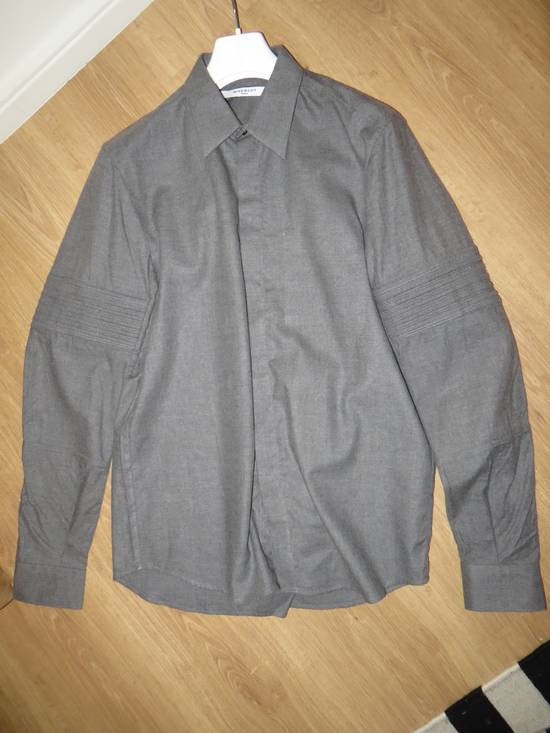 Givenchy FINAL PRICE! Grey flannel shirt Size US M / EU 48-50 / 2