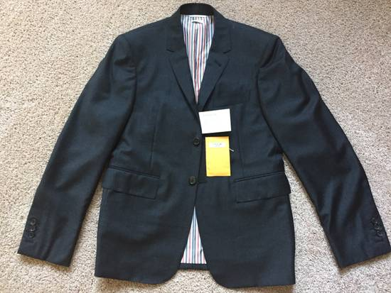 Thom Browne Thom Browne SS17 Classic Gray Suit-Jacket - TB 2 Size US M / EU 48-50 / 2 - 1