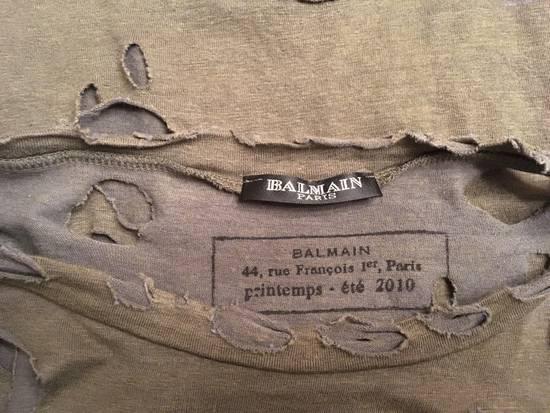 Balmain Decarnin Ripped T-shirt Size US M / EU 48-50 / 2 - 2