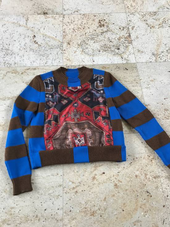Givenchy Runway Persian Printed Knit Sweater Size US XS / EU 42 / 0 - 1